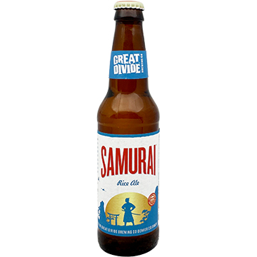 Great Divide Samurai Rice Ale