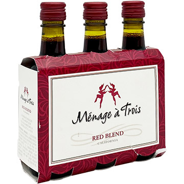 Menage a Trois Red Blend 2018