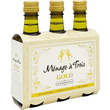 Menage a Trois Gold Chardonnay 2018