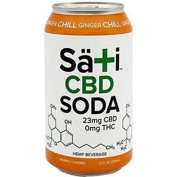 Sati Organics Ginger Chill CBD Soda