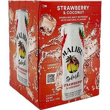 Malibu Splash Strawberry & Coconut