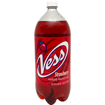 Vess Strawberry Soda