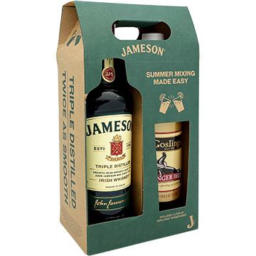 Jameson Irish Whiskey Gift Set with Goslings Ginger Beer