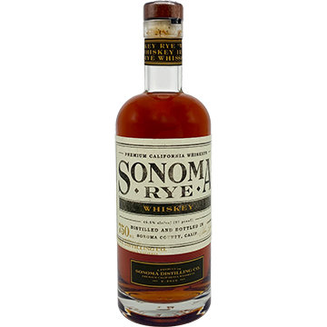 Sonoma Distilling Rye Whiskey