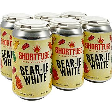 Short Fuse Bear-ie White