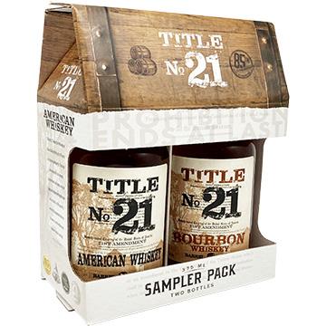 Title No. 21 Whiskey Sampler Pack