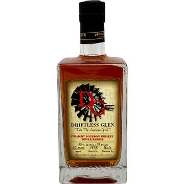 Driftless Glen Single Barrel Straight Bourbon Whiskey