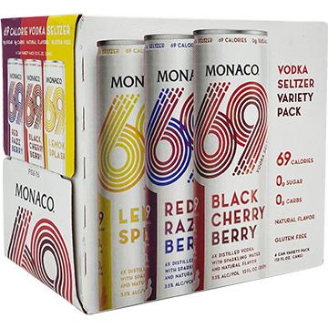 Monaco 69 Vodka Seltzer Variety Pack