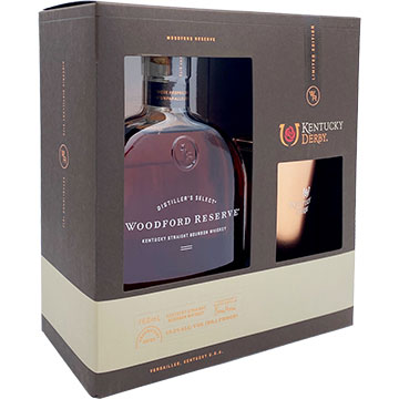 Woodford Reserve Bourbon Gift Set with Kentucky Derby Julep Glass