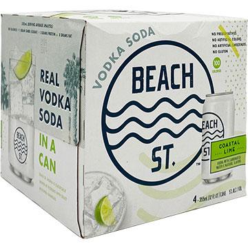Beach St. Coastal Lime Vodka Soda