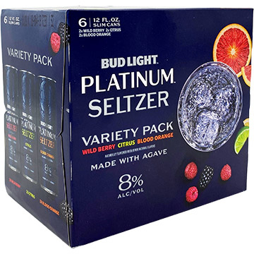 Bud Light Platinum Seltzer Variety Pack
