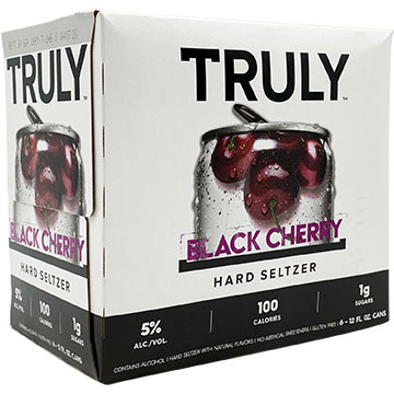Truly Hard Seltzer Black Cherry