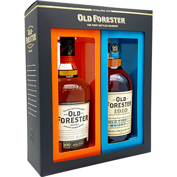Old Forester 100 Proof & 1910 Twin Pack
