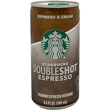 Starbucks Doubleshot Espresso & Cream