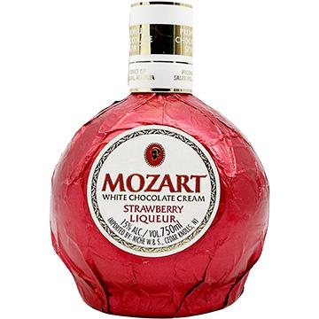 Mozart White Chocolate Cream Strawberry Liqueur