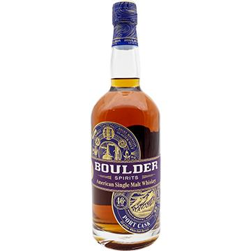 Boulder Spirits Port Cask American Single Malt Whiskey