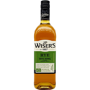 J.P. Wiser's Triple Barrel Rye