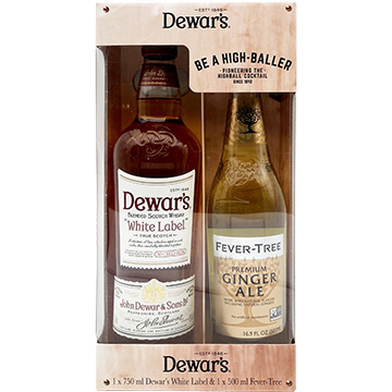 Dewar's White Label with Fever Tree Ginger Ale