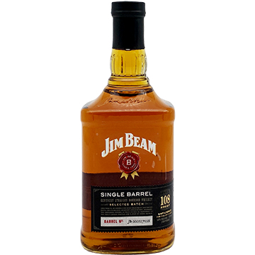 Jim Beam Single Barrel 108 Proof