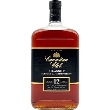 Canadian Club Classic 12 Year Old Blended Canadian Whiskey