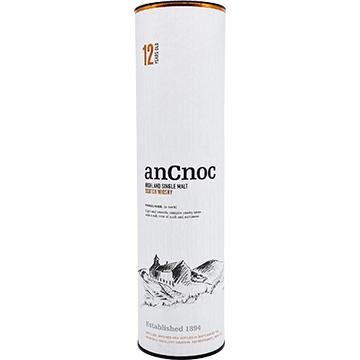 anCnoc 12 Year Old Single Malt Scotch Whiskey