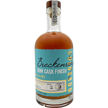 Breckenridge Rum Cask Finish Bourbon Whiskey