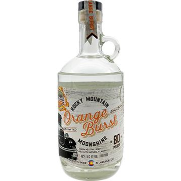 Mystic Mountain Orange Burst Moonshine