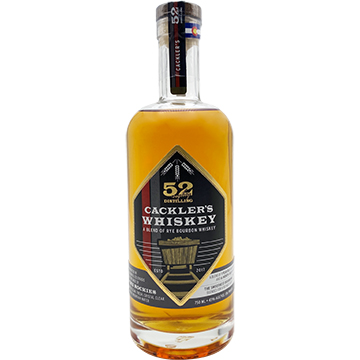 52 Eighty Cackler's Whiskey