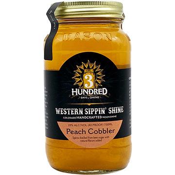 3 Hundred Days of Shine Peach Cobbler