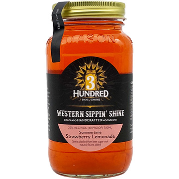 3 Hundred Days of Shine Summertime Strawberry Lemonade