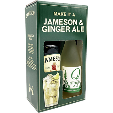 Jameson Irish Whiskey with Q Ginger Ale