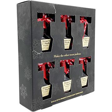 Maker's Mark Bourbon Ornament Gift Set