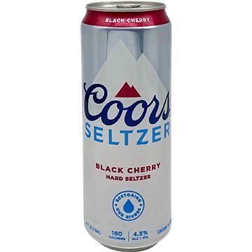 Coors Black Cherry Hard Seltzer