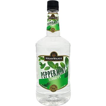 Hiram Walker 60 Proof Peppermint Schnapps Liqueur
