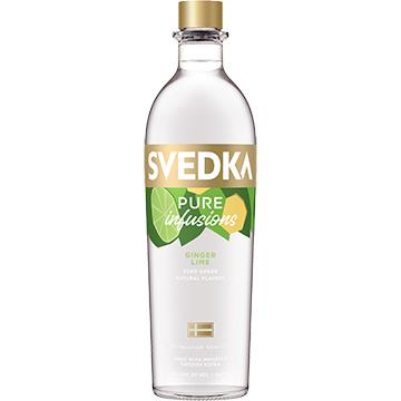 Svedka Pure Infusions Ginger Lime