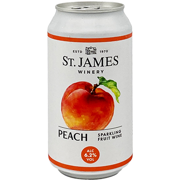St. James Winery Sparkling Peach