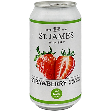 St. James Winery Sparkling Strawberry
