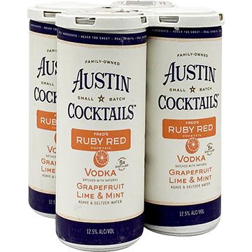 Austin Cocktails Fred's Ruby Red
