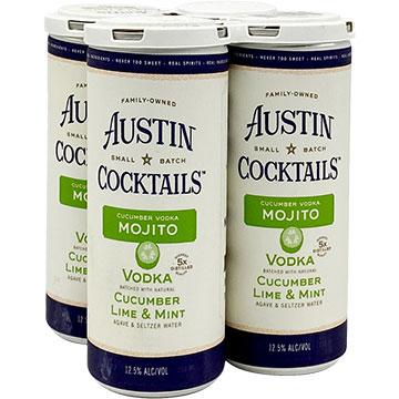 Austin Cocktails Cucumber Vodka Mojito