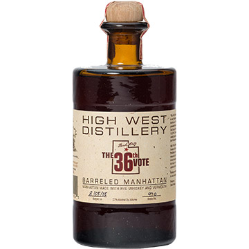High West The 36th Vote Barreled Manhattan Whiskey