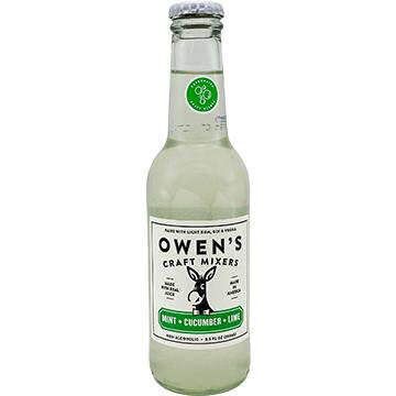 Owen's Craft Mixers Mint + Cucumber + Lime