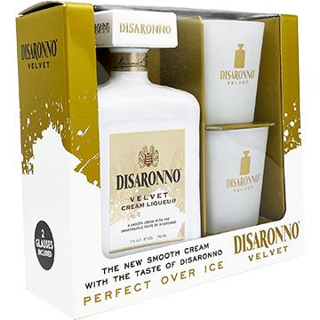 Disaronno Velvet Gift Set with 2 Glasses