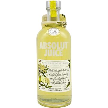 Absolut Juice Pear & Elderflower Vodka