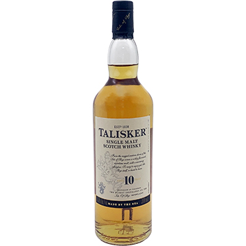Talisker 10 Year Old Single Malt Scotch Whiskey