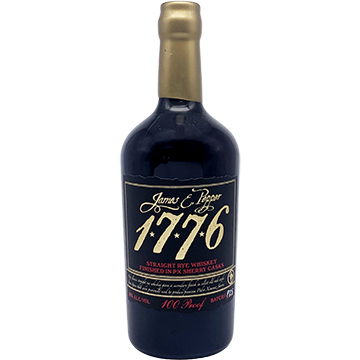 James E Pepper 1776 Straight Rye Sherry Cask