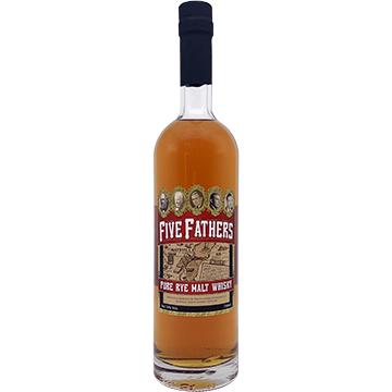 Five Fathers Pure Rye Malt Whiskey