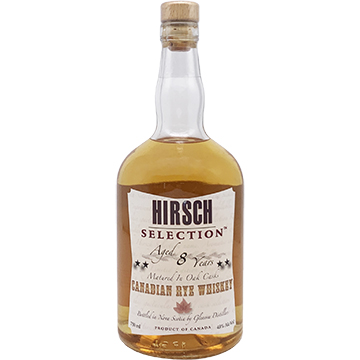Hirsch Selection 8 Year Old Rye Whiskey