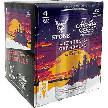 Stone Wizards And Gargoyles Hazy Coffee IPA