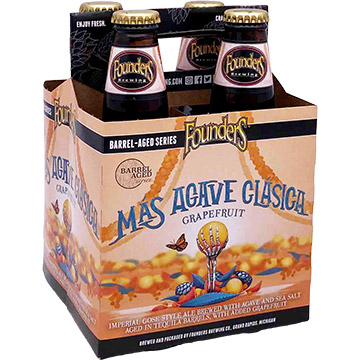 Founders Mas Agave Clasica Grapefruit