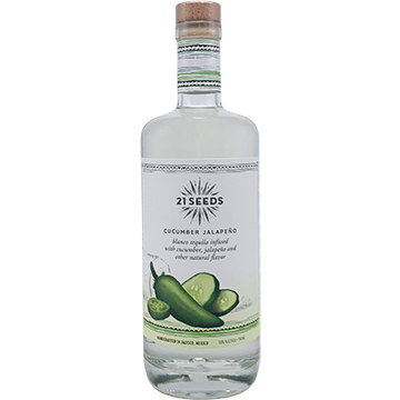 21 Seeds Cucumber Jalapeno Tequila